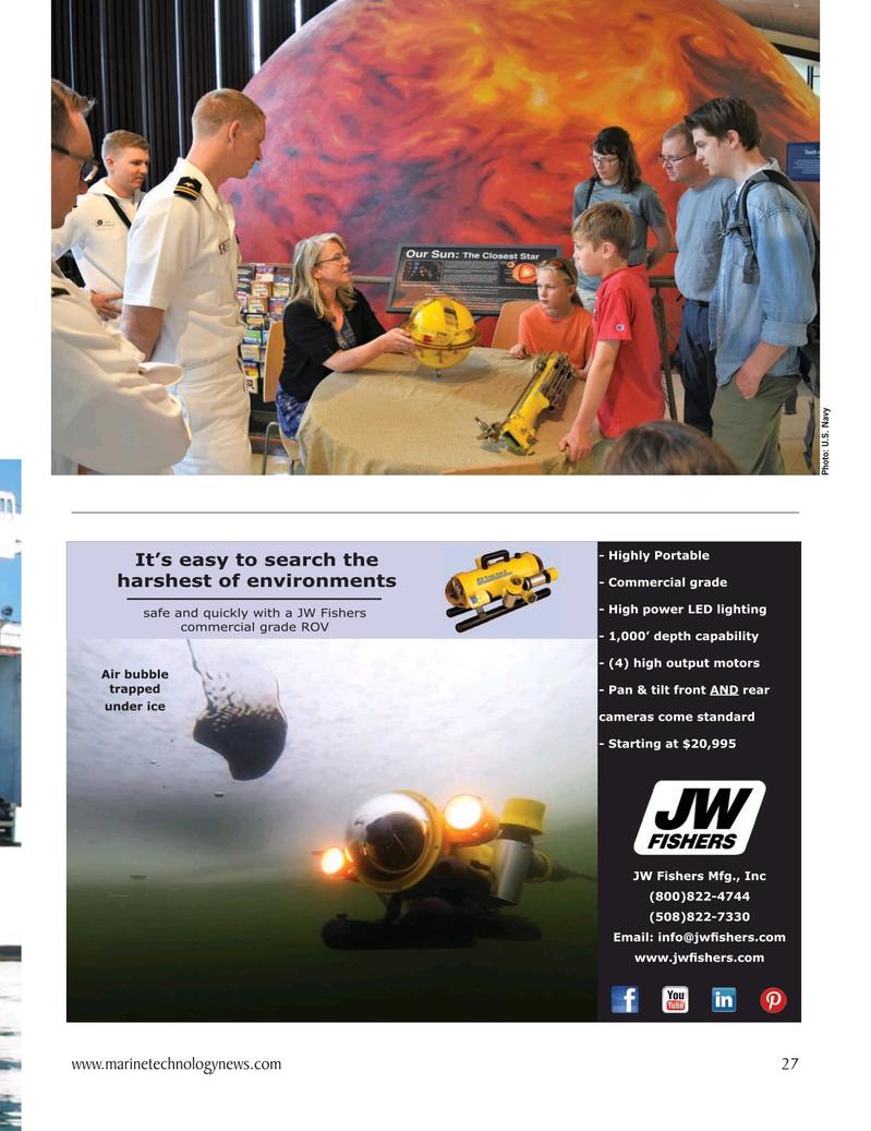 Marine Technology Magazine, page 27,  Oct 2020