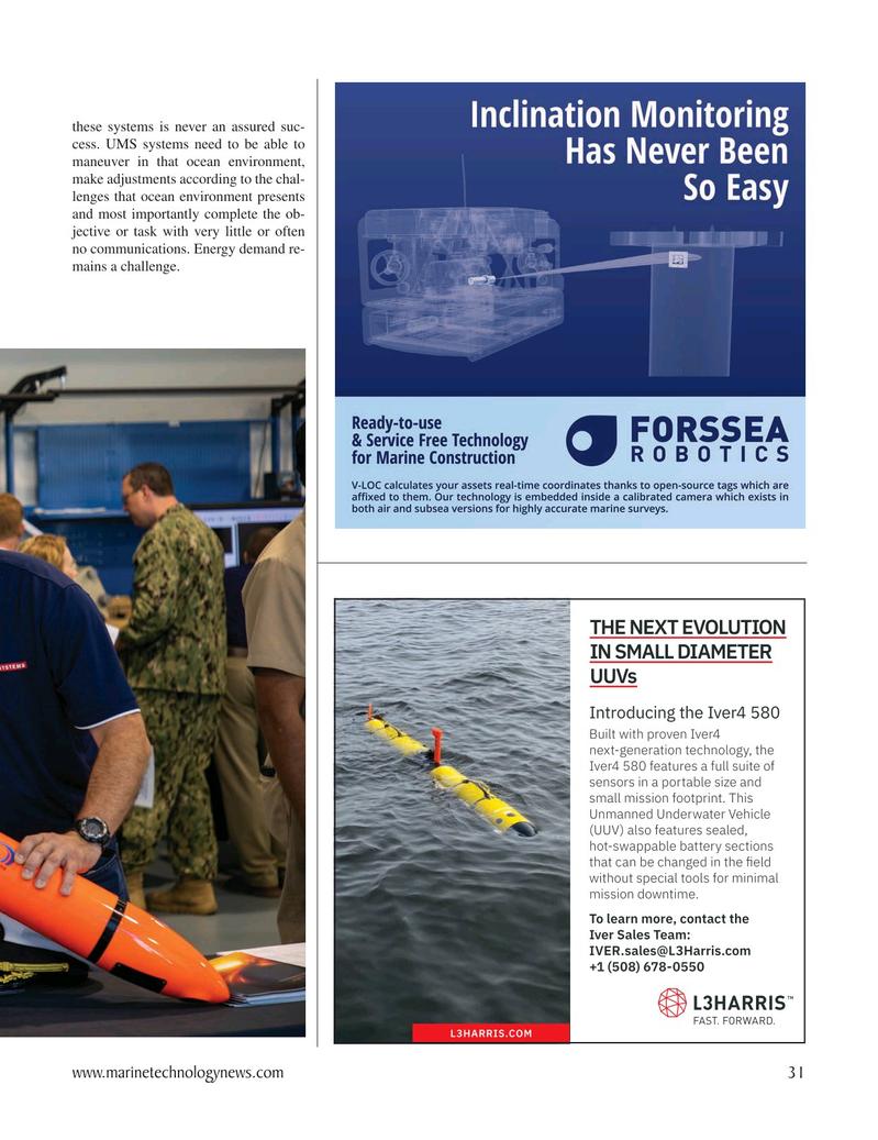 Marine Technology Magazine, page 31,  Oct 2020