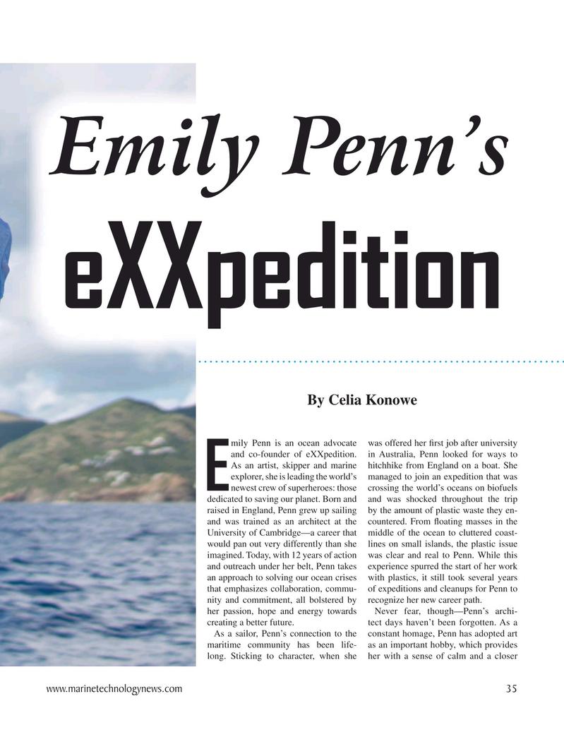 Marine Technology Magazine, page 35,  Oct 2020