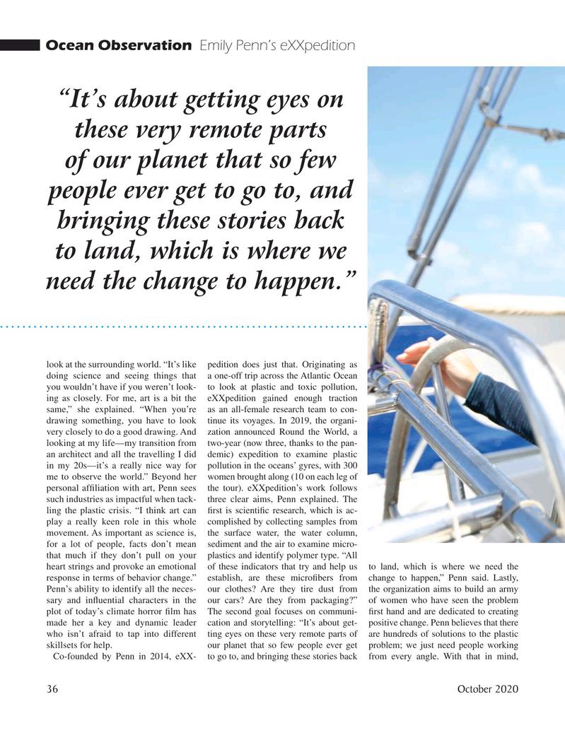 Marine Technology Magazine, page 36,  Oct 2020