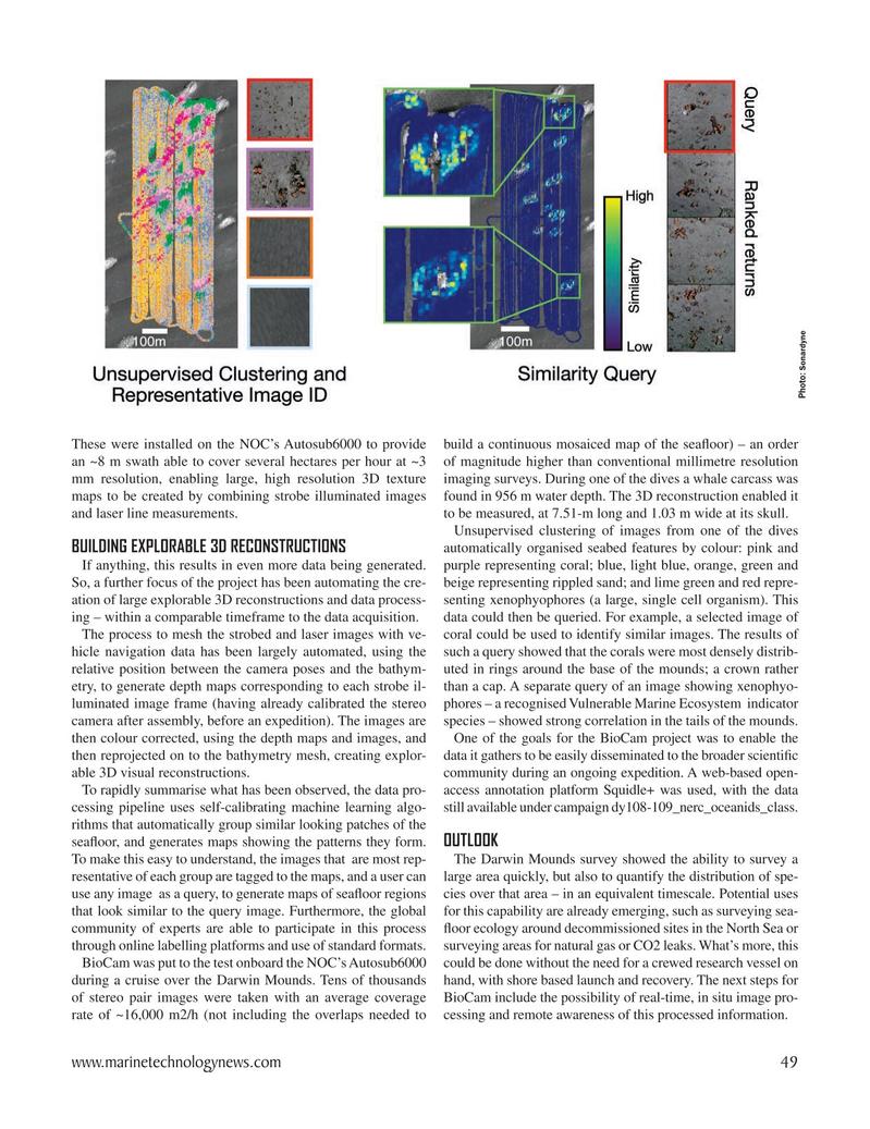 Marine Technology Magazine, page 49,  Oct 2020