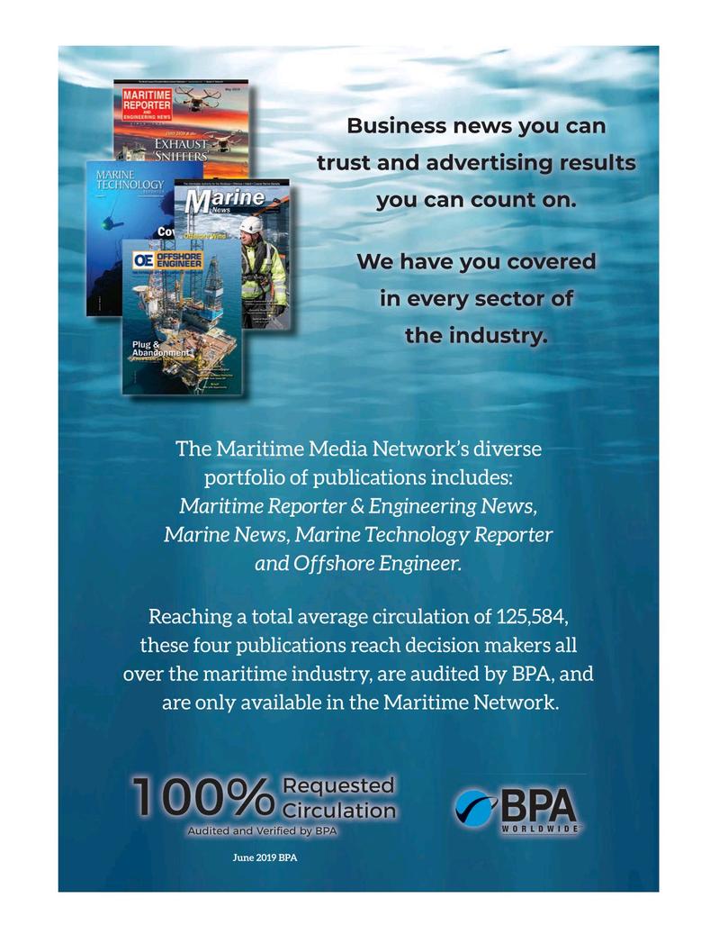 Marine Technology Magazine, page 60,  Oct 2020