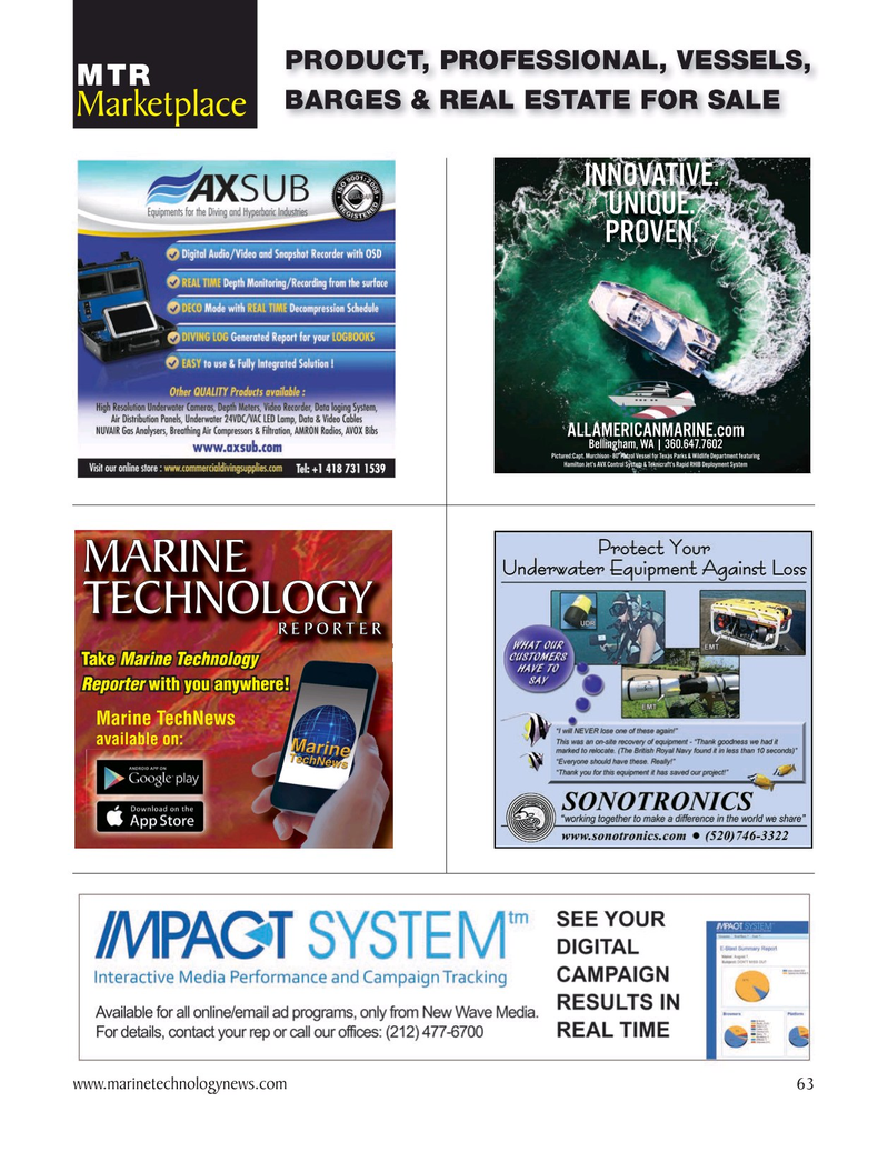 Marine Technology Magazine, page 63,  Oct 2020