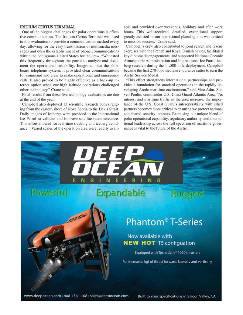 Marine Technology Magazine, page 23,  Nov 2020