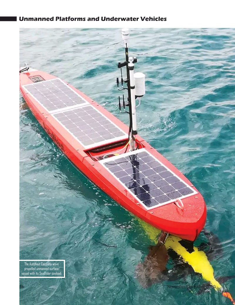 Marine Technology Magazine, page 36,  Nov 2020