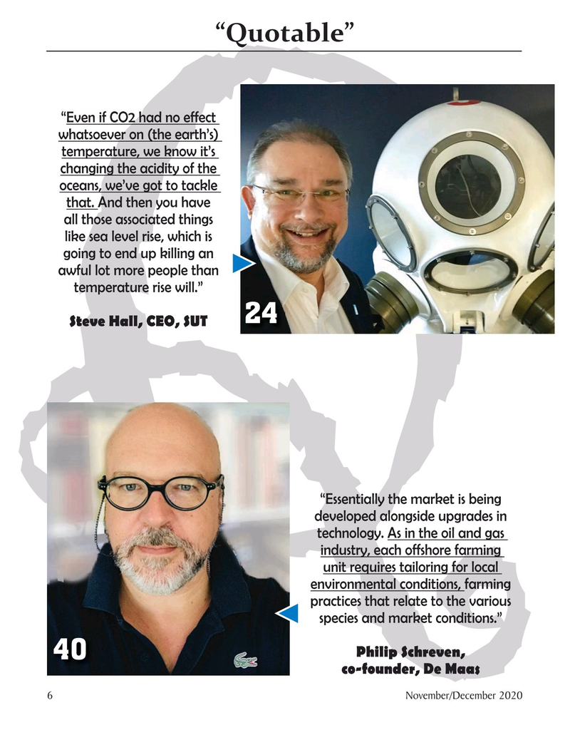 Marine Technology Magazine, page 6,  Nov 2020