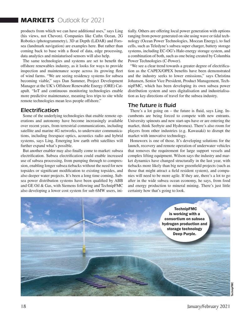 Marine Technology Magazine, page 18,  Jan 2021