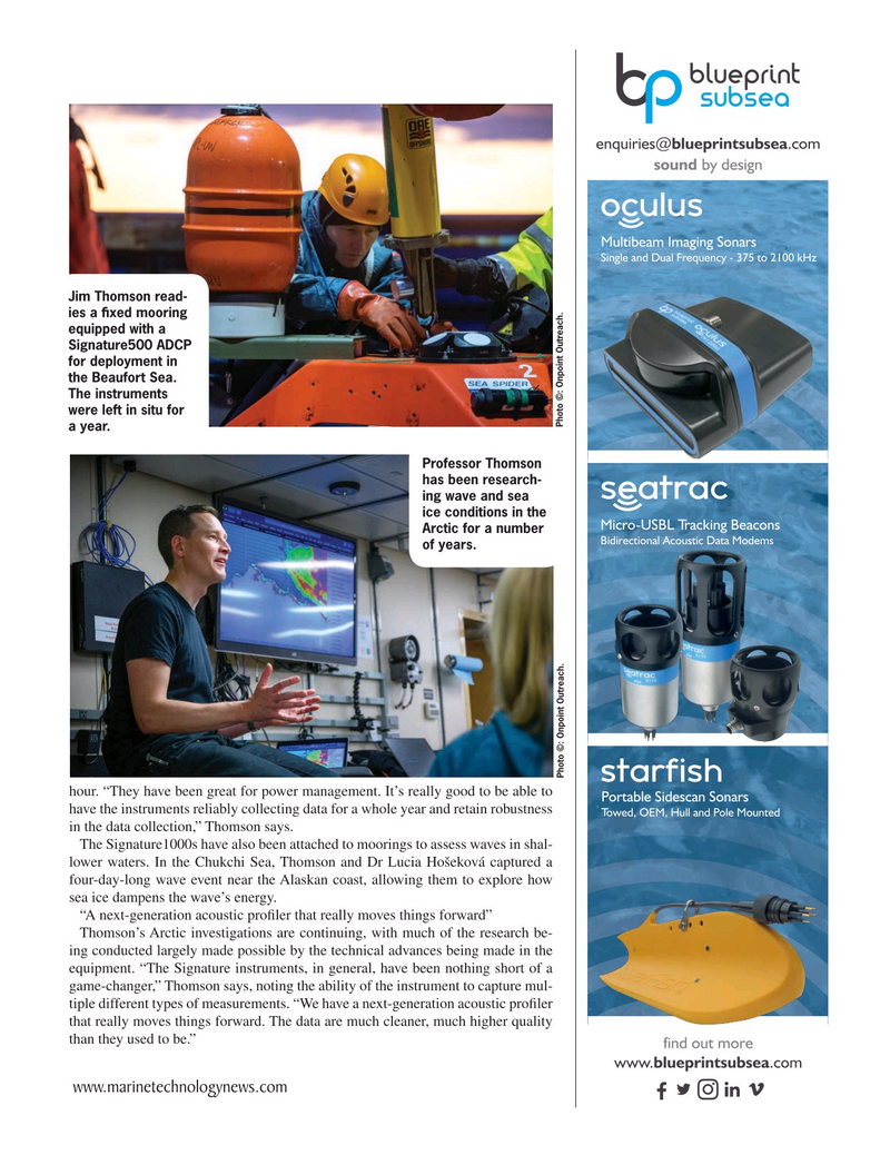 Marine Technology Magazine, page 15,  May 2021