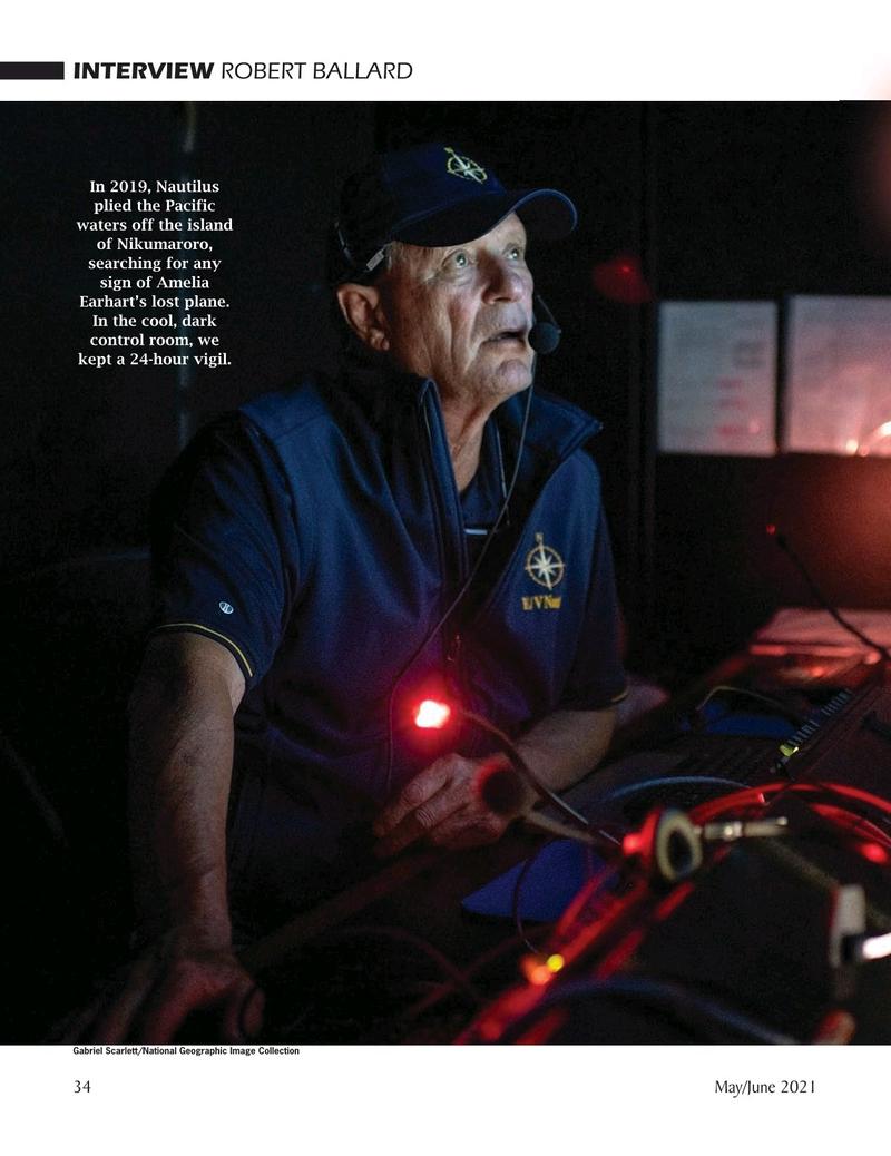 Marine Technology Magazine, page 34,  May 2021