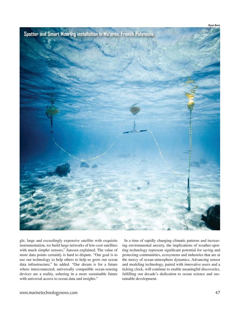 Marine Technology Magazine, page 47,  May 2021