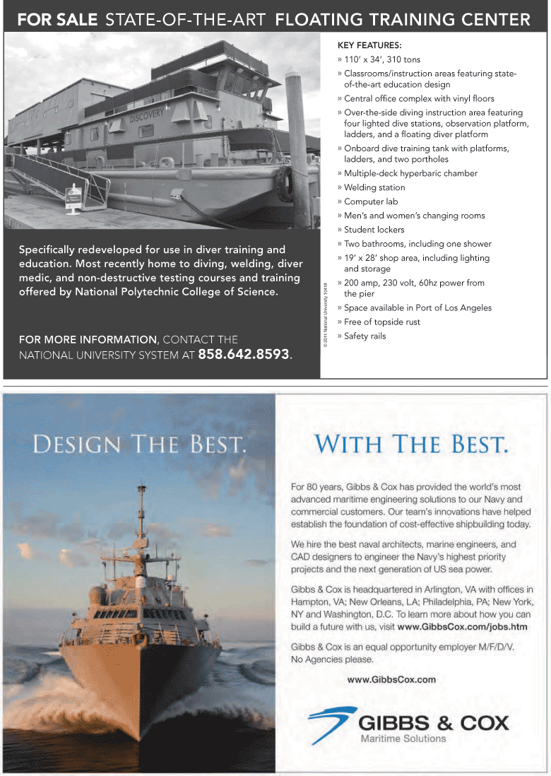 Maritime Logistics Professional Magazine, page 11,  Q1 2012 National Polytechnic College of Science