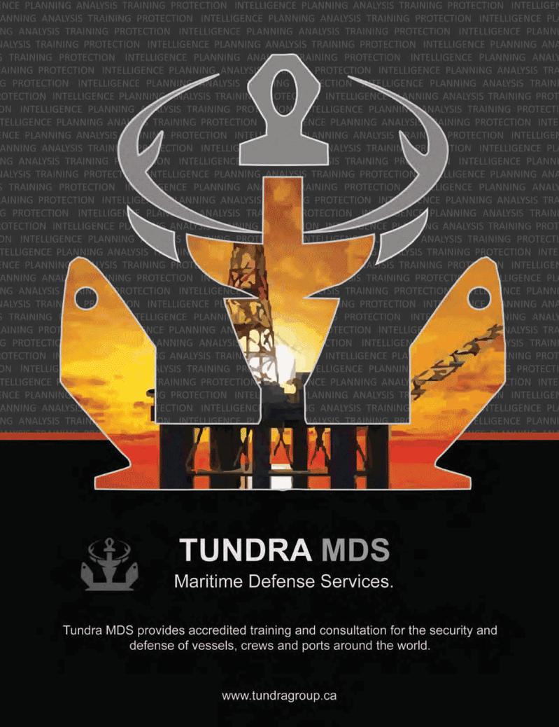 Maritime Logistics Professional Magazine, page 1,  Q1 2012