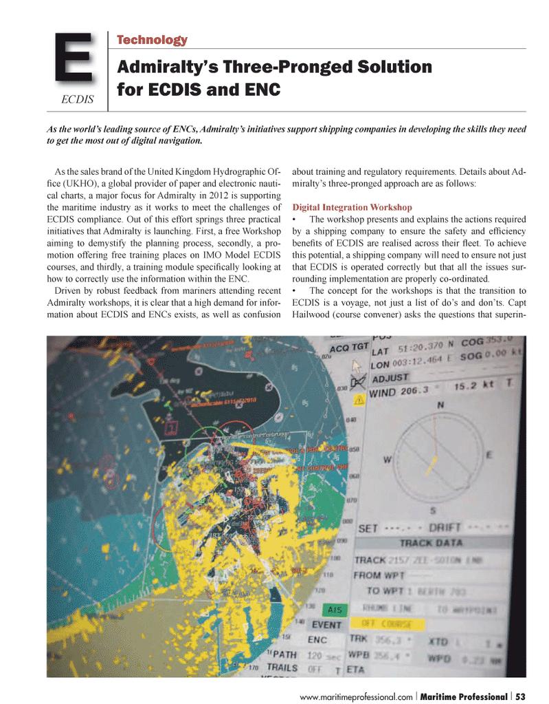 Maritime Logistics Professional Magazine, page 53,  Q1 2012 United Nations