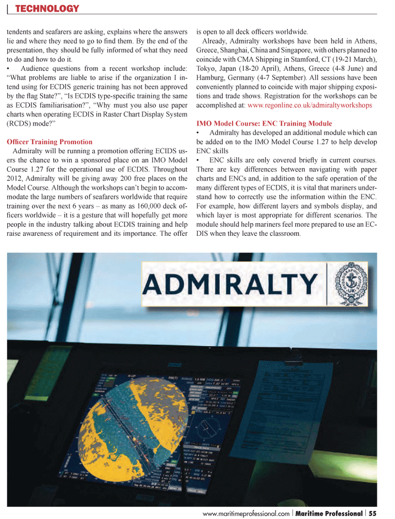 Maritime Logistics Professional Magazine, page 55,  Q1 2012 China