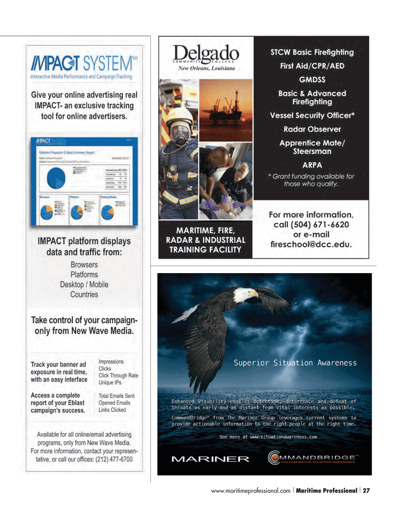 Maritime Logistics Professional Magazine, page 27,  Q4 2012