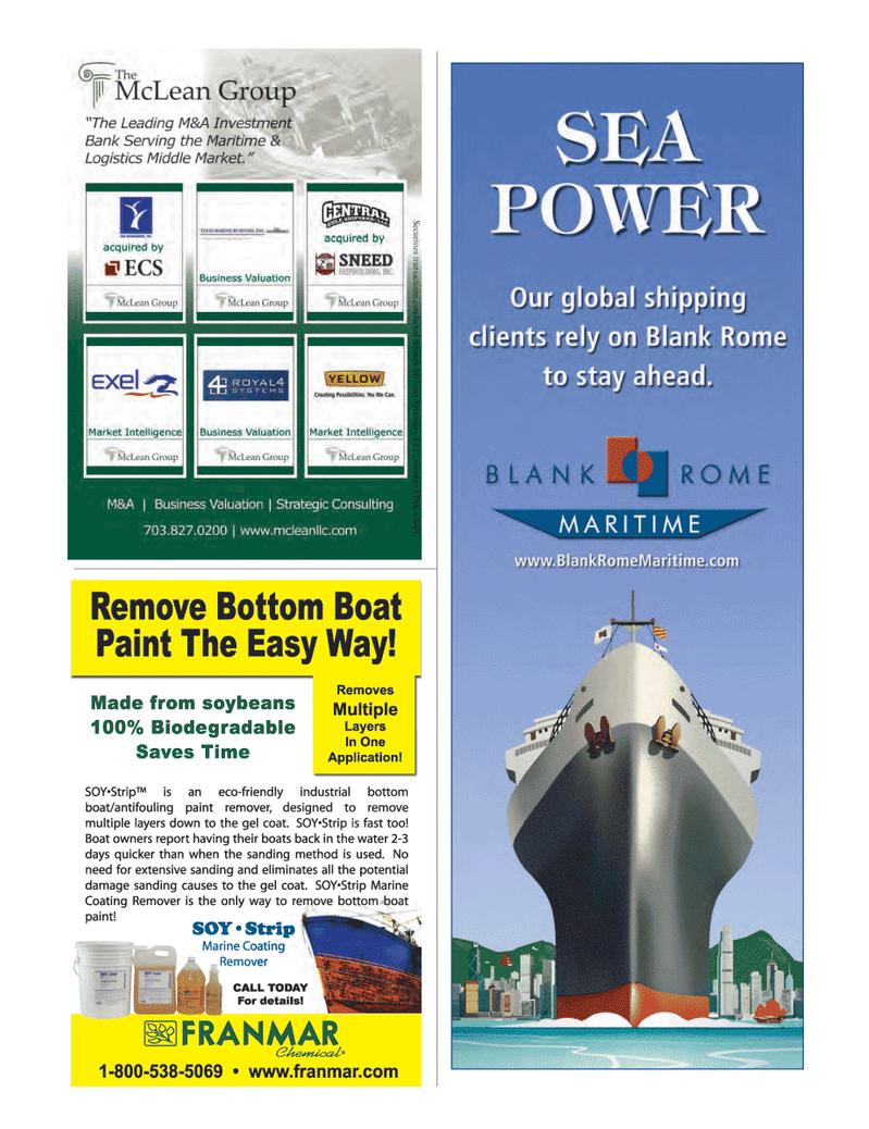 Maritime Logistics Professional Magazine, page 31,  Q4 2012