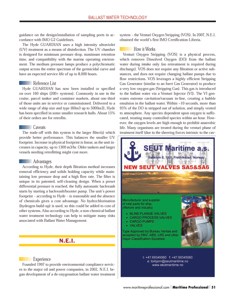 Maritime Logistics Professional Magazine, page 51,  Q4 2012