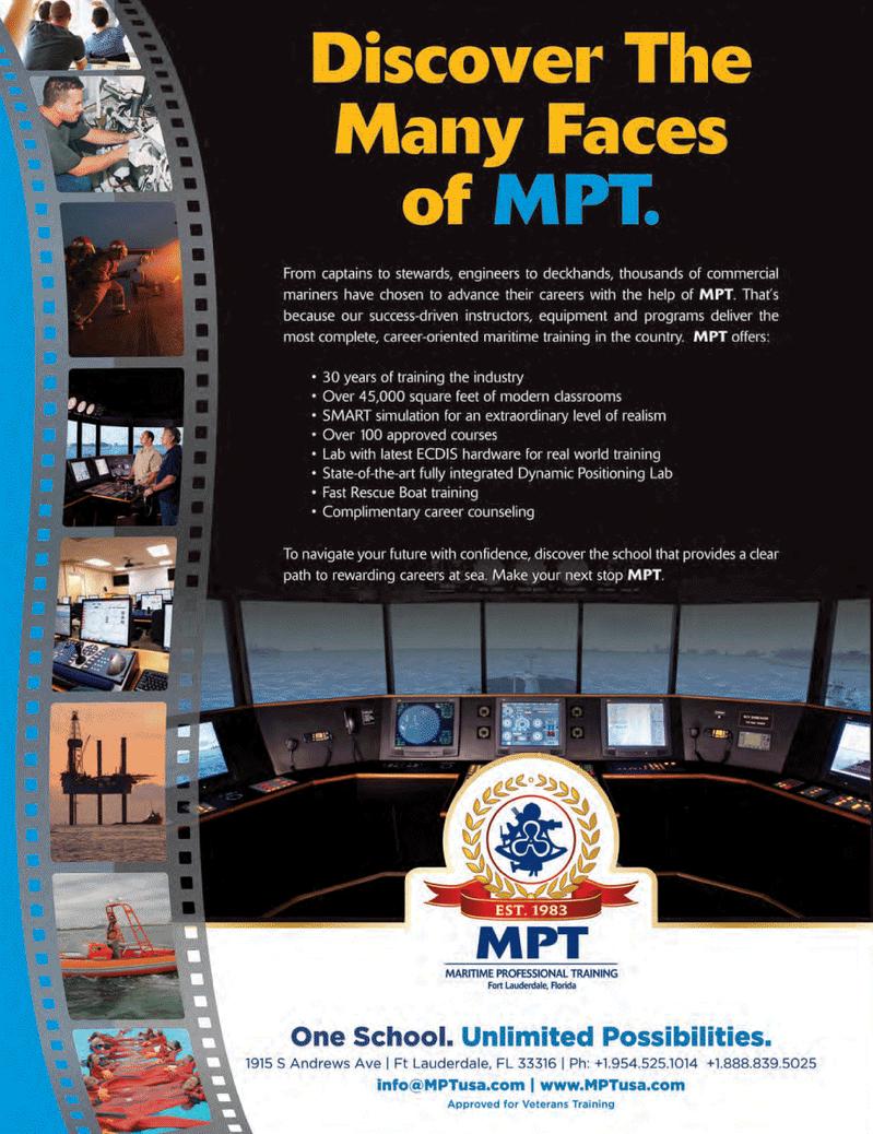 Maritime Logistics Professional Magazine, page 4th Cover,  Q1 2014