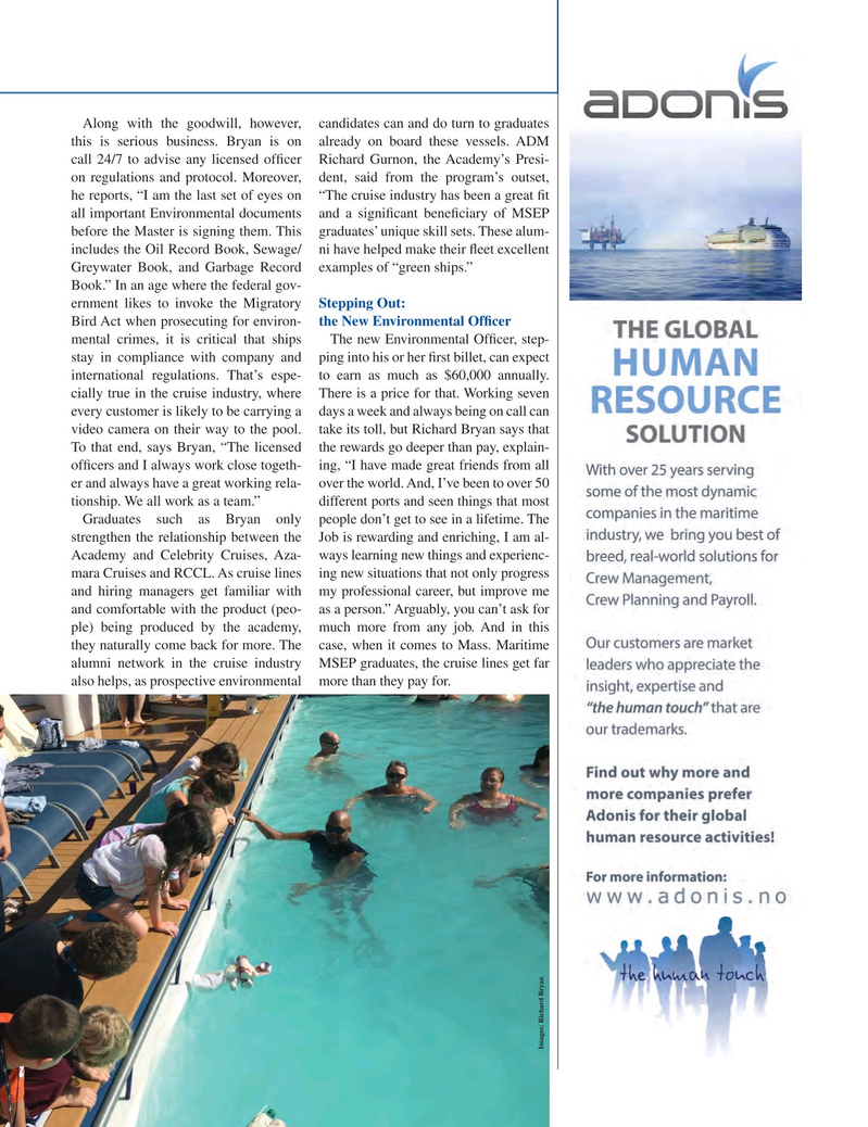 Maritime Logistics Professional Magazine, page 31,  Q1 2015