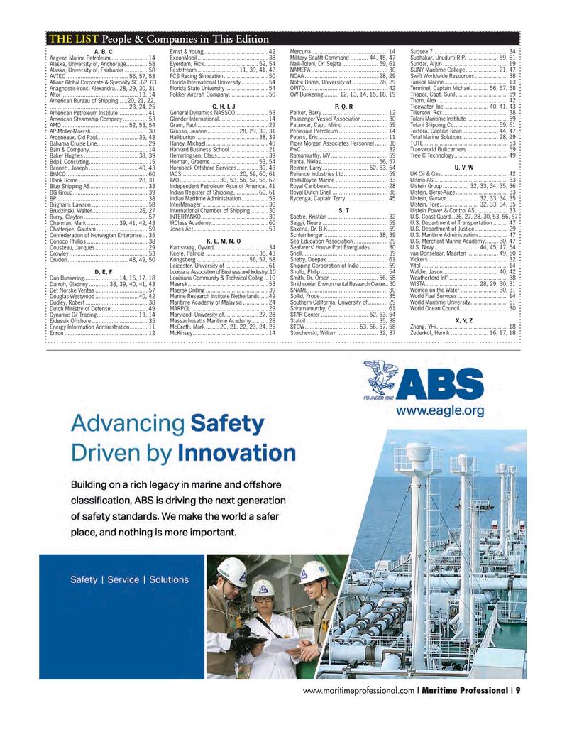 Maritime Logistics Professional Magazine, page 9,  Q2 2015