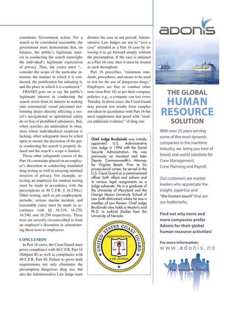 Maritime Logistics Professional Magazine, page 27,  Q2 2015