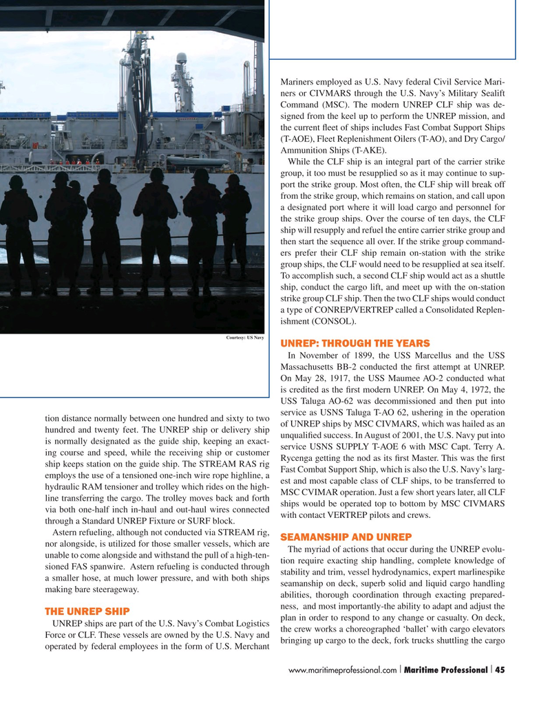 Maritime Logistics Professional Magazine, page 45,  Q2 2015