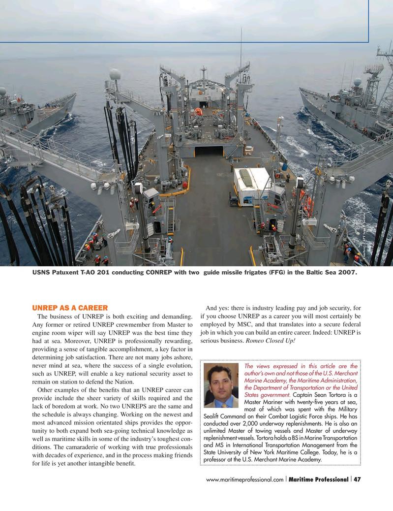 Maritime Logistics Professional Magazine, page 47,  Q2 2015