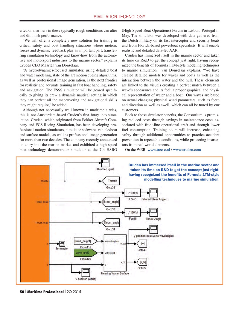 Maritime Logistics Professional Magazine, page 50,  Q2 2015