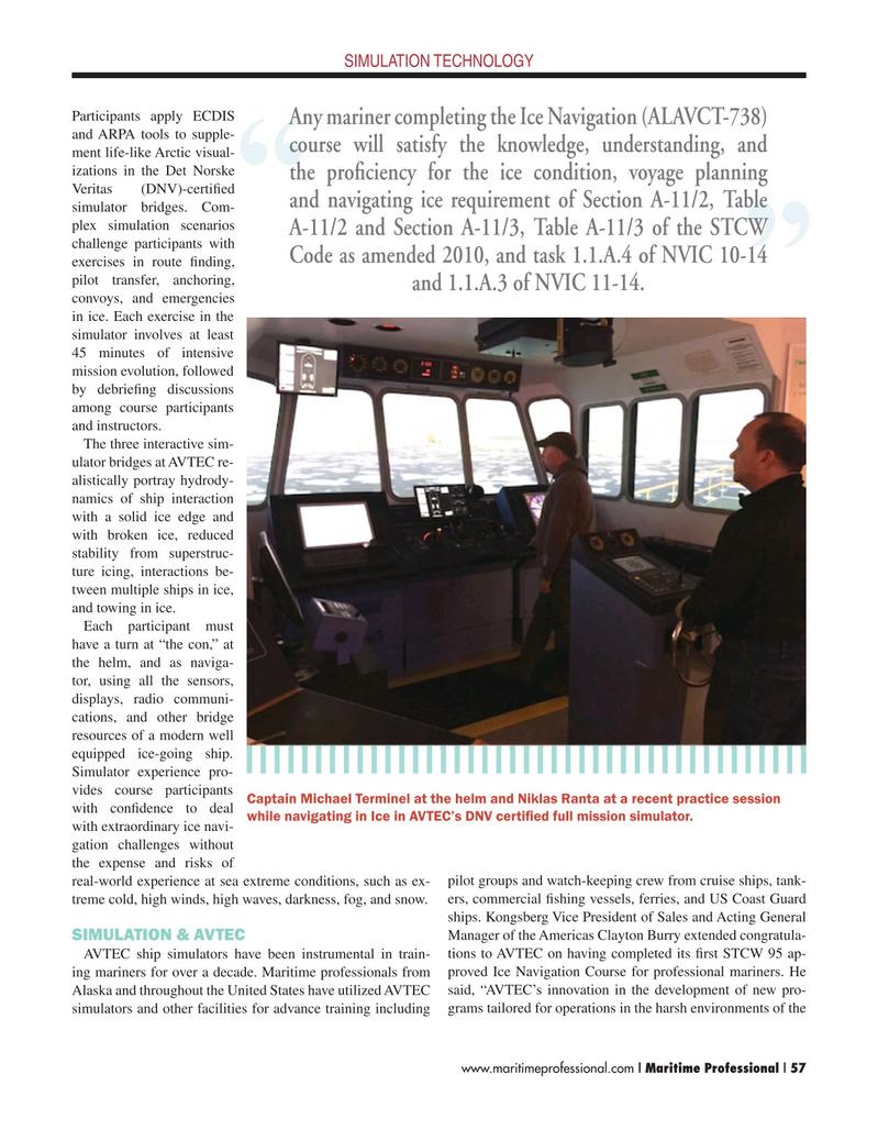 Maritime Logistics Professional Magazine, page 57,  Q2 2015
