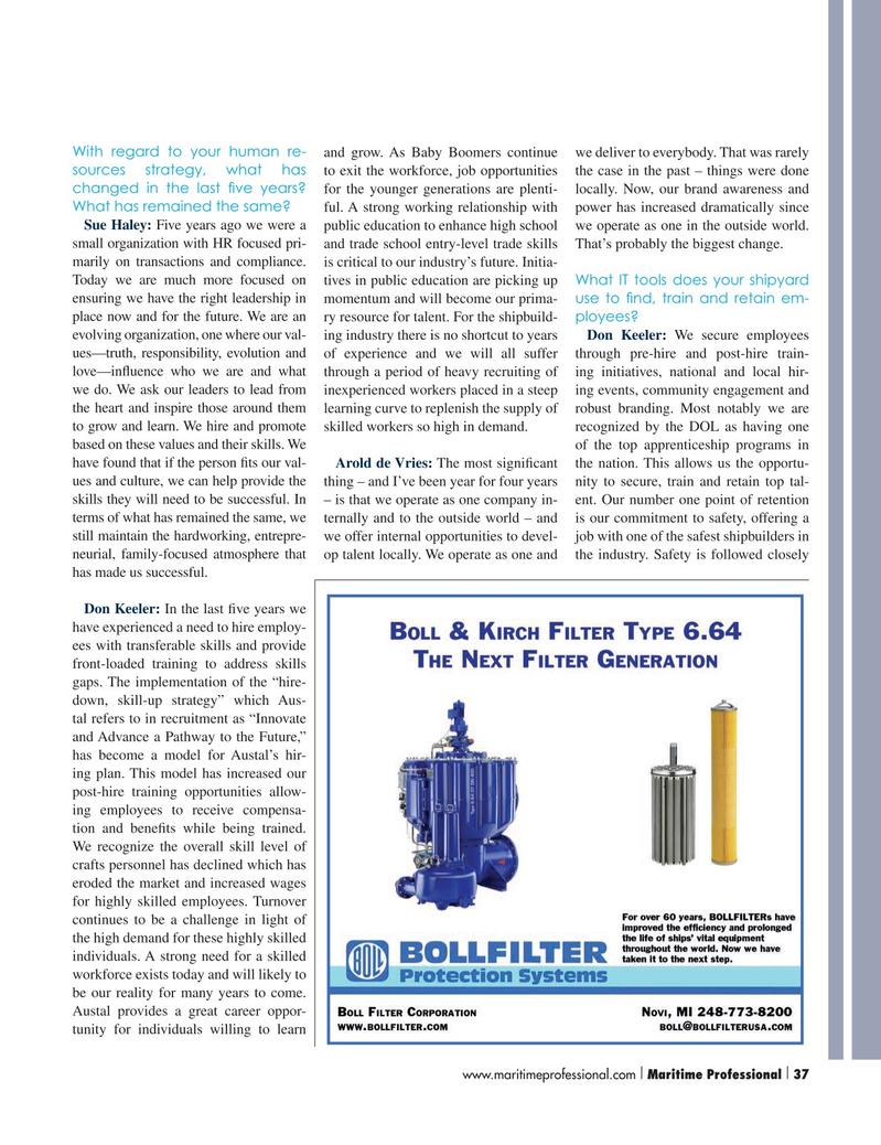 Maritime Logistics Professional Magazine, page 37,  Q3 2015