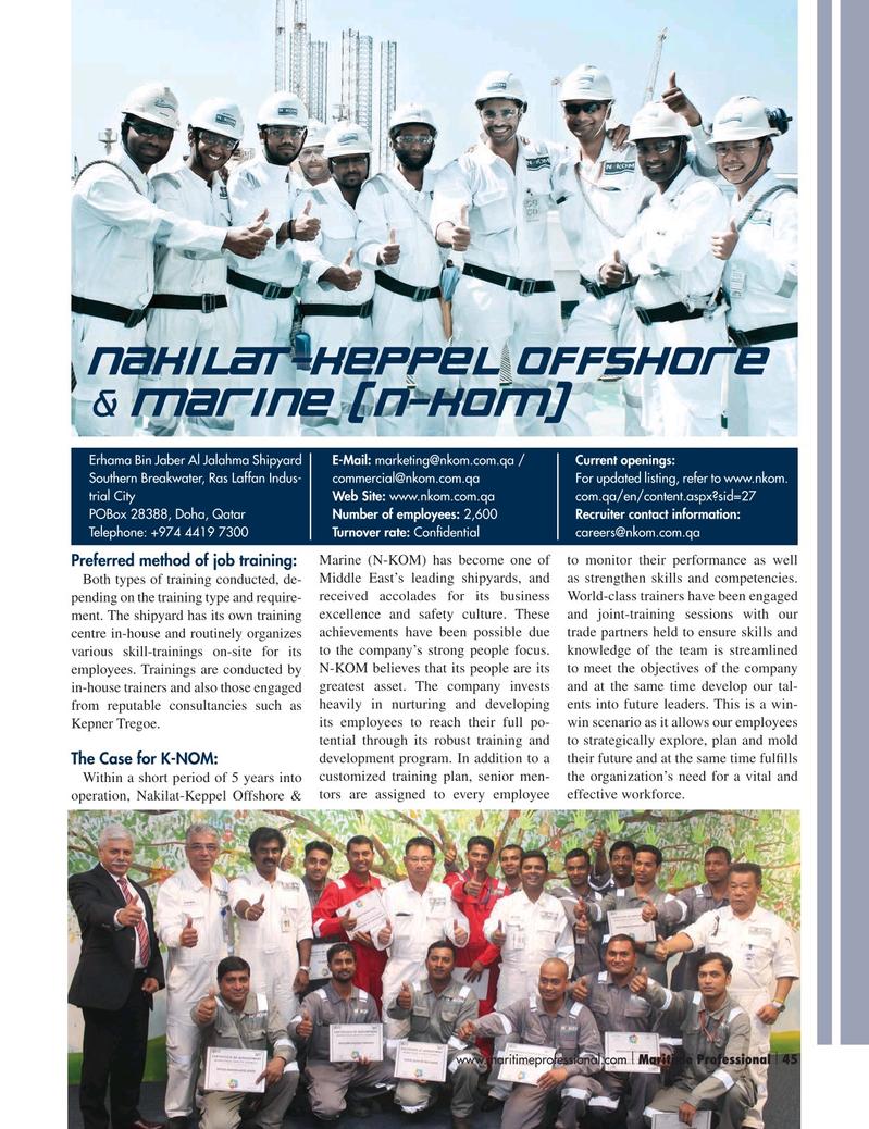 Maritime Logistics Professional Magazine, page 45,  Q3 2015
