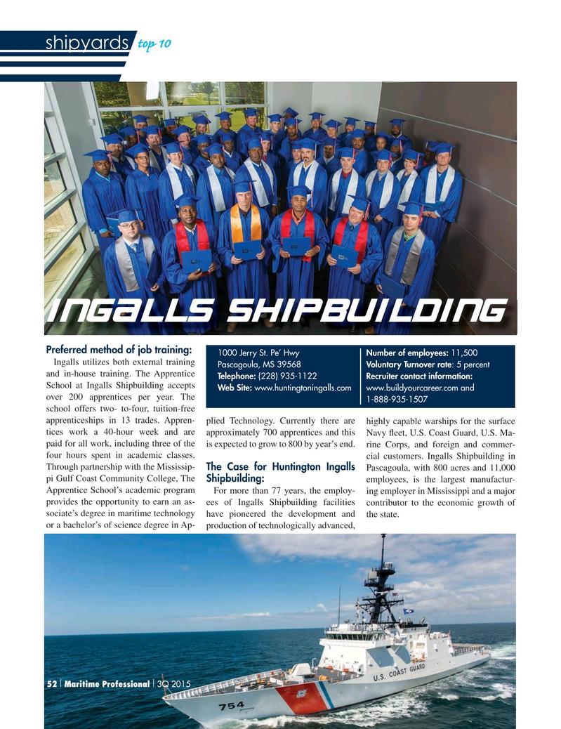 Maritime Logistics Professional Magazine, page 52,  Q3 2015