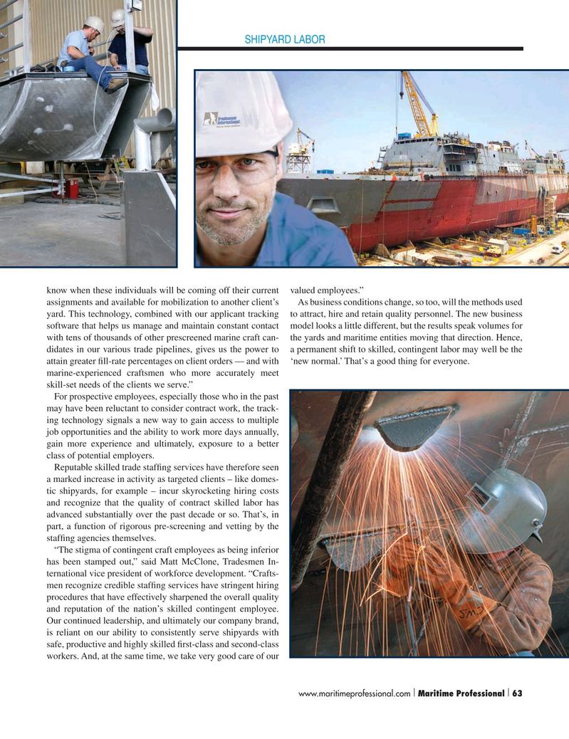 Maritime Logistics Professional Magazine, page 63,  Q3 2015