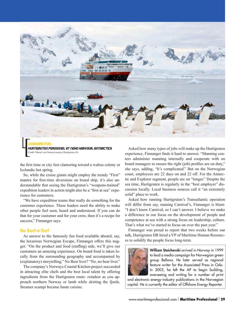 Maritime Logistics Professional Magazine, page 29,  Q1 2016