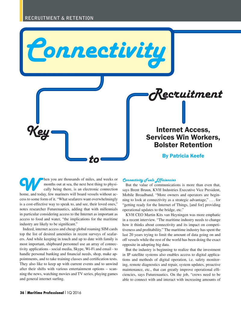 Maritime Logistics Professional Magazine, page 36,  Q1 2016