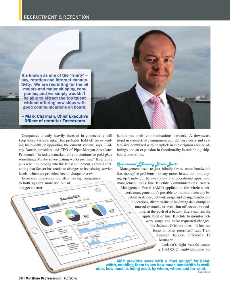Maritime Logistics Professional Magazine, page 38,  Q1 2016