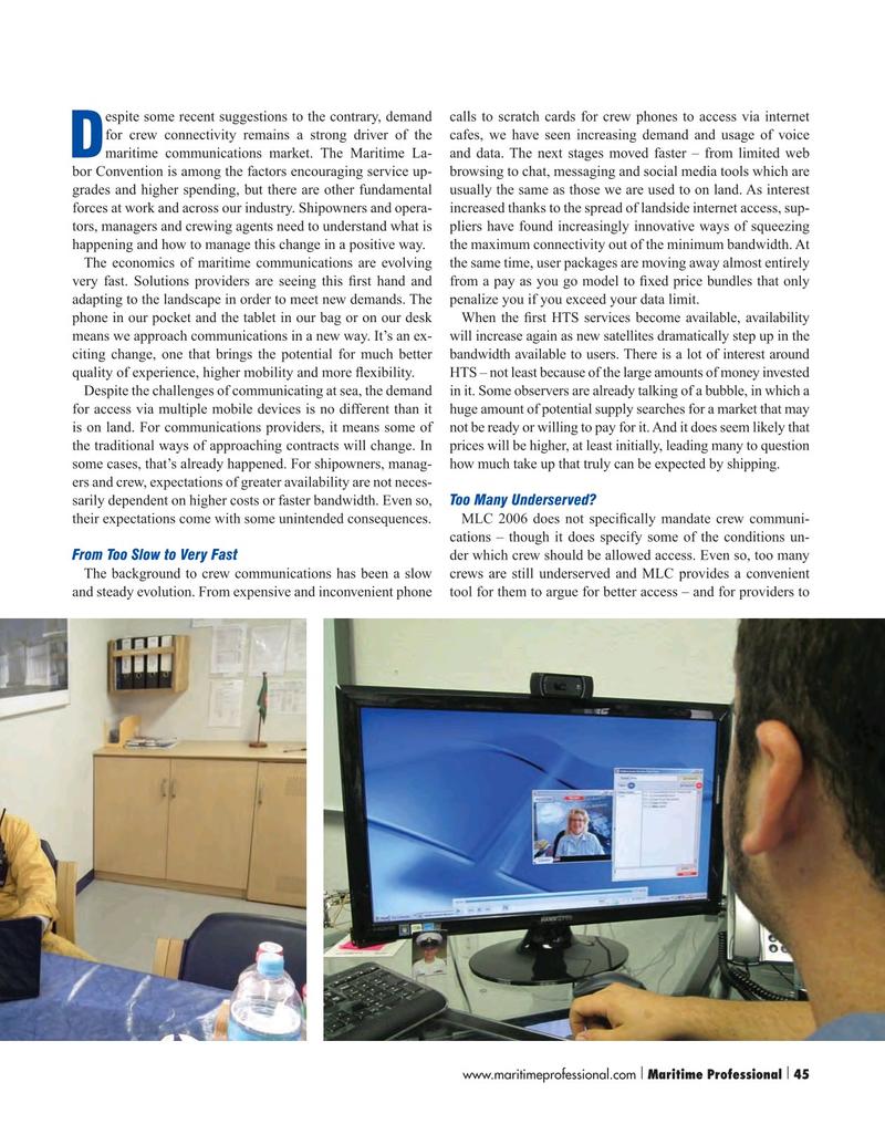 Maritime Logistics Professional Magazine, page 45,  Q1 2016