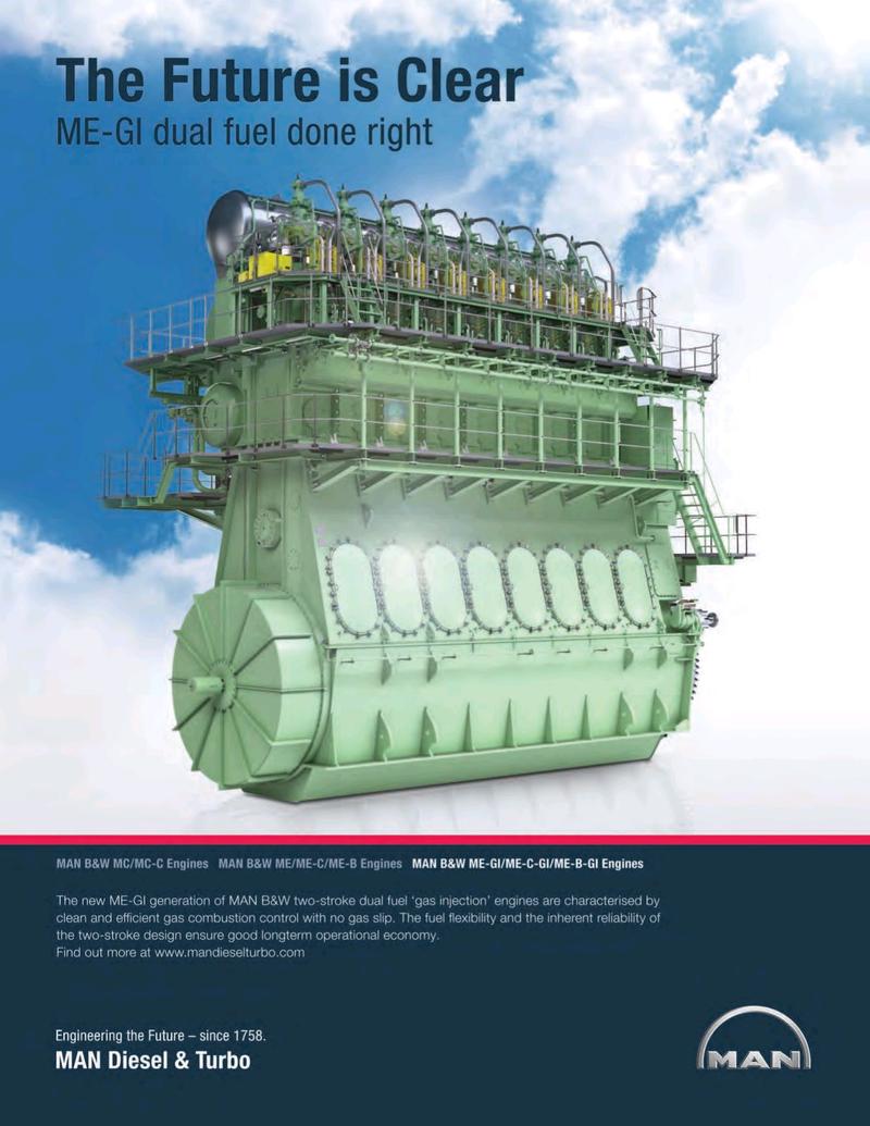 Maritime Logistics Professional Magazine, page 3,  Q1 2016