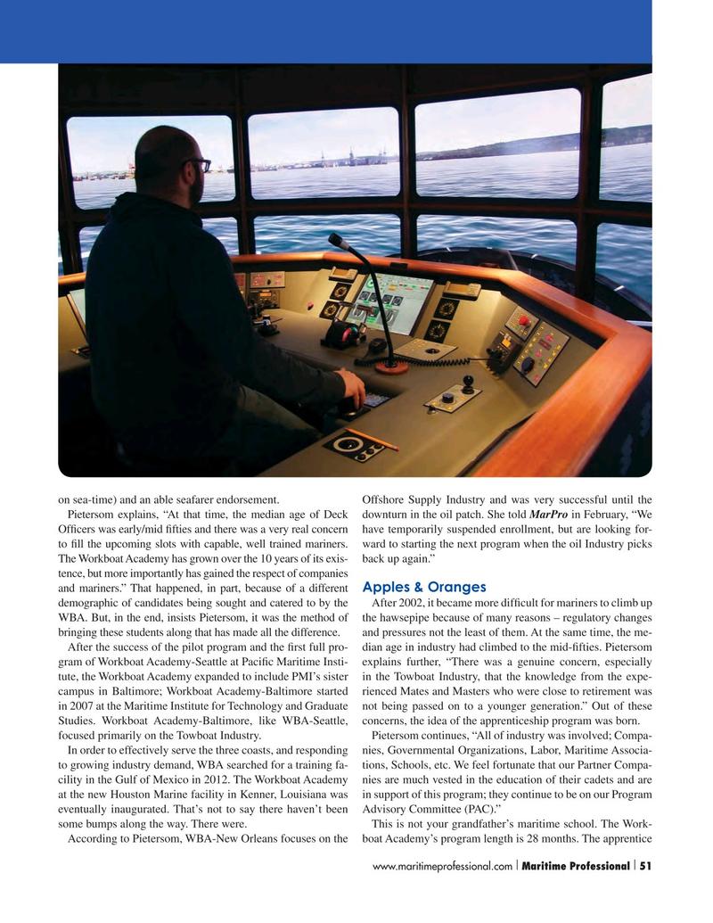 Maritime Logistics Professional Magazine, page 51,  Q1 2016