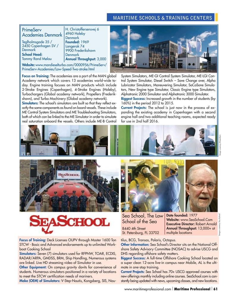 Maritime Logistics Professional Magazine, page 61,  Q1 2016