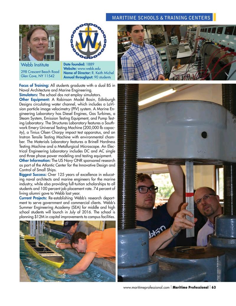 Maritime Logistics Professional Magazine, page 63,  Q1 2016