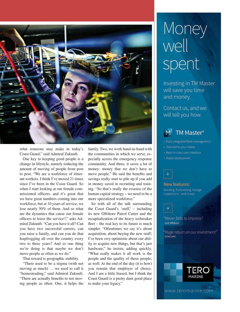 Maritime Logistics Professional Magazine, page 31,  Q2 2016
