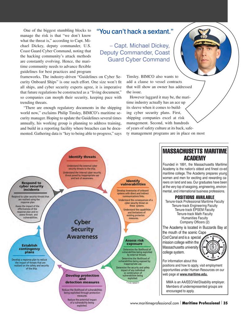 Maritime Logistics Professional Magazine, page 35,  Q2 2016