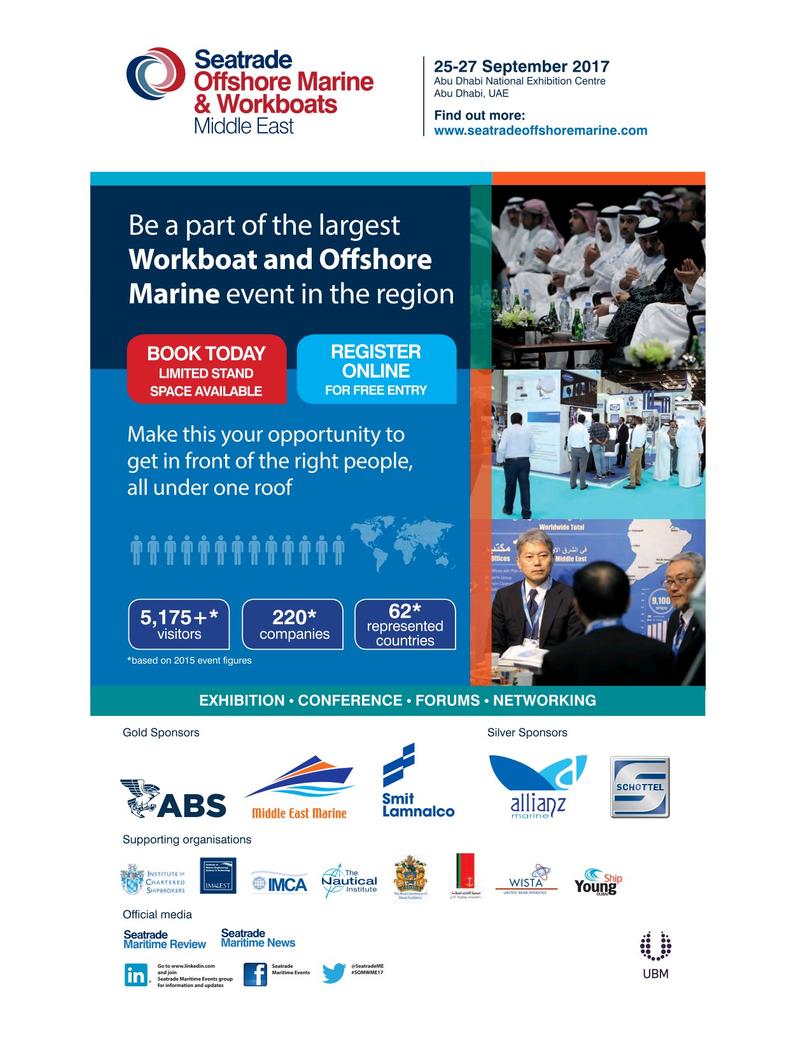 Maritime Logistics Professional Magazine, page 22,  May/Jun 2017