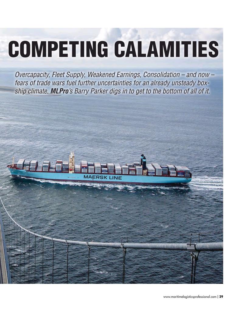 Maritime Logistics Professional Magazine, page 29,  May/Jun 2018