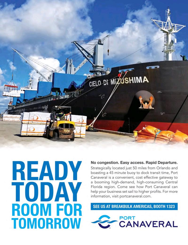 Maritime Logistics Professional Magazine, page 9,  Jul/Aug 2018
