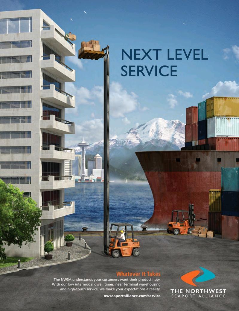 Maritime Logistics Professional Magazine, page 2nd Cover,  Jul/Aug 2018