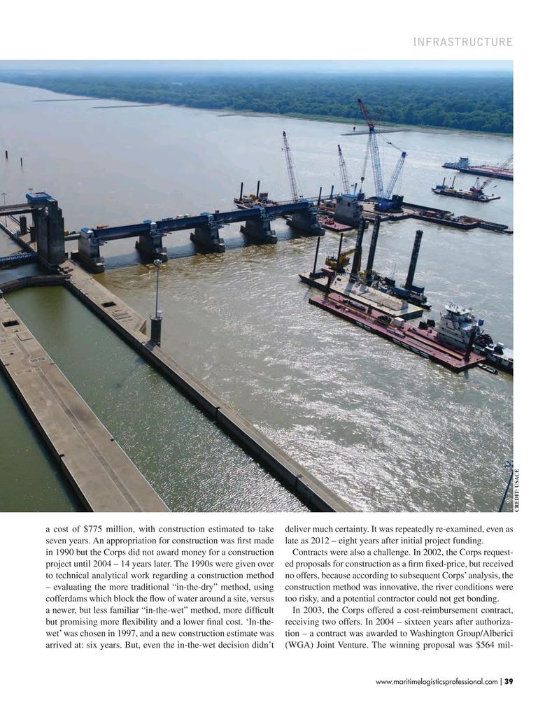 Maritime Logistics Professional Magazine, page 39,  Jul/Aug 2018