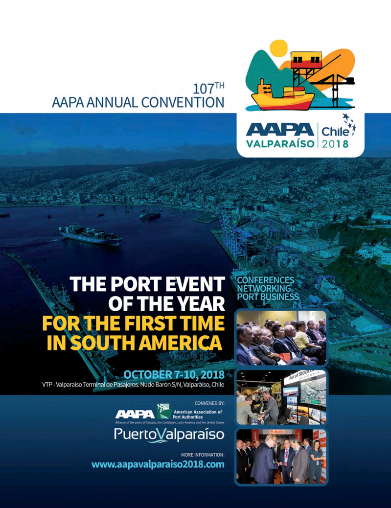 Maritime Logistics Professional Magazine, page 53,  Jul/Aug 2018