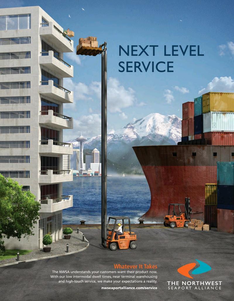 Maritime Logistics Professional Magazine, page 2nd Cover,  Nov/Dec 2018